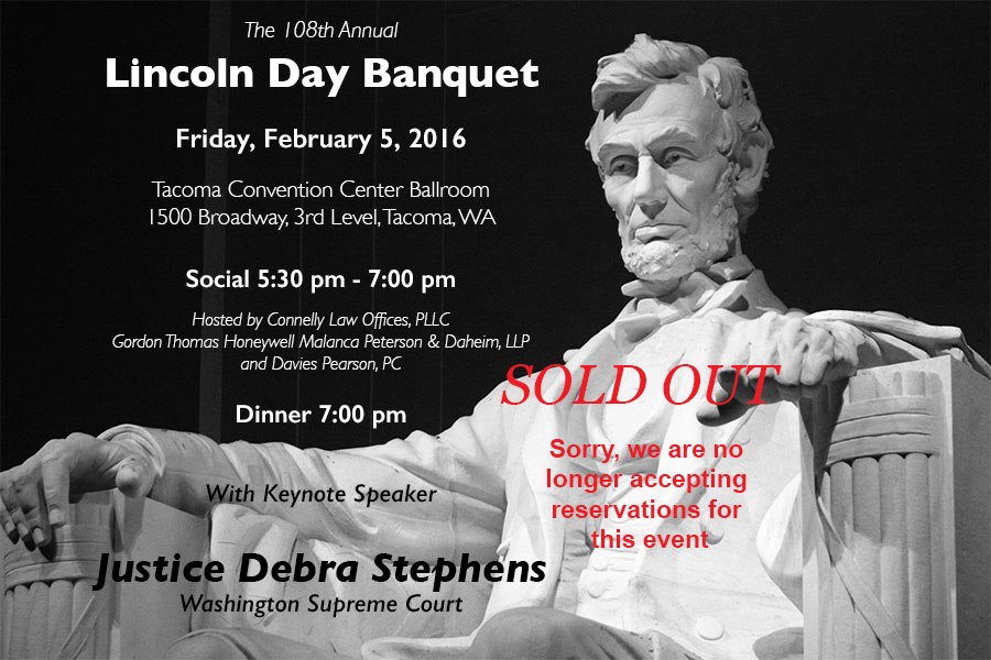 Lincoln Day 2016 - banner