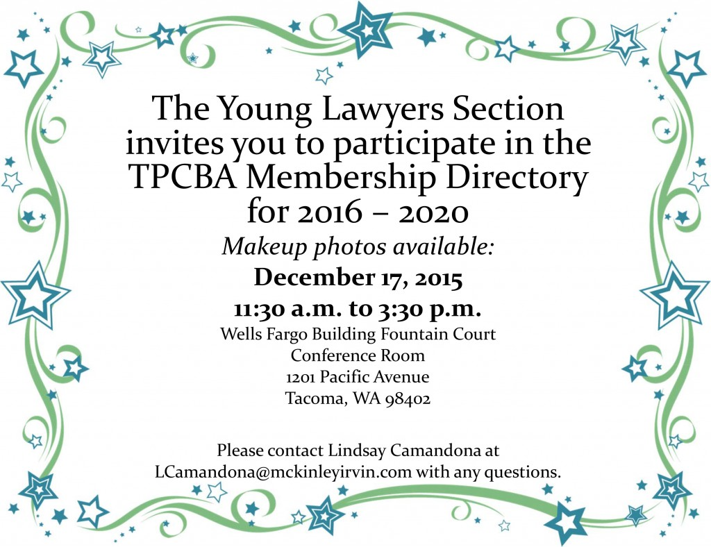 Membership Directory Flyer Dec. 17