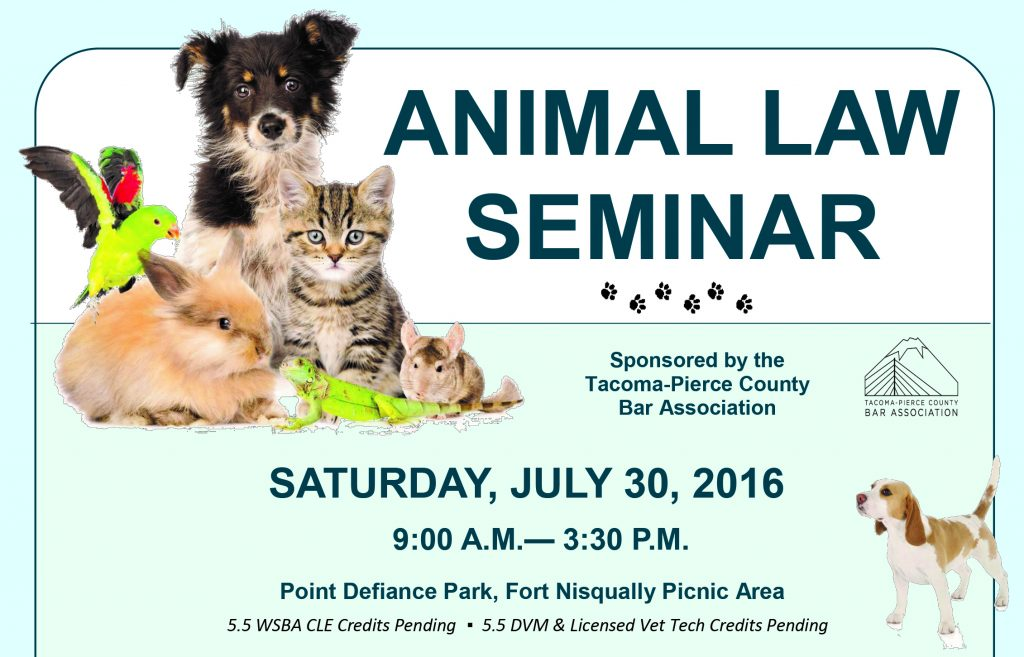 2016 Animal Law CLE-social